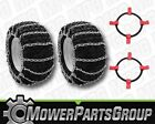(1) Tire Chain and Tightener Kit 20x8.00x8 20x8x8 2-Link Pair Sears Craftsman
