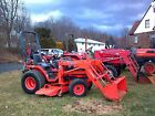 2007 Kubota B7510 Tractor with Loader and Mower