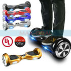 UL 2 Wheels 65 Electric Smart Scooter Self Balance Hover Board Battery Scooter