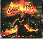 AXXIS - PARADISE IN FLAMES - NEW CD - OOP !!! RARE DIGIBOOK, LIMITED EDITION!!!