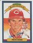 Pete Rose AUTOGRAPH 1986 DONRUSS DIAMOND KING BASEBALL CARD SIGNED