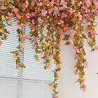Autumn Rose Garland Artificial Rose Vine With Green Leaves Flowering Vines Vine