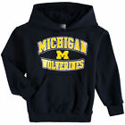 Champion Michigan Wolverines Youth Navy Powerblend Pullover Hoodie College