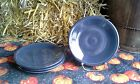 Set 4 SALAD PLATE slate HOMER LAUGHLIN FIESTA WARE 7.25