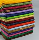 100 Cotton Tonal Blender Sewing  Quilting Fabric BTY