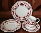 Fitz & Floyd TOWN & COUNTRY 4-piece Place Setting (Dinner, Salad, Rim Soup, Mug)