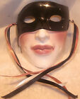 Vintage Clay Art About Face Ceramic Mask Zorro Masquerade