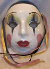 Vintage Clay Art About Face Ceramic Harlequin Mime #2