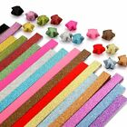 Caydo Origami Stars Paper Folding Strips 18 Colors 360 Sheets Glitter