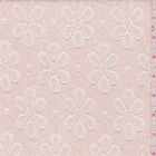 Soft Pink Daisy Lace Fabric By The Yard
