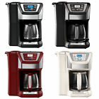 Black  Decker CM5000 12 Cup Mill and Brew Coffeemaker 4 Colors