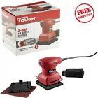 2.0Amp 1/4 Sheet Orbital Palm ELECTRIC SANDER Includes Dust Bag Hyper Tough NEW