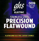 GHS 750 Precision Flatwound electric guitar strings Rock009 042