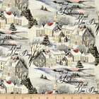 NEW!  Susan Winget Old World Christmas Wintervale Cotton Fabric by the YARD