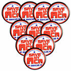 Pack 10 Save My ACA Obamacare Affordable Care Act 225 Pin back Buttons