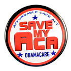 Pack 1 Save My ACA Obamacare Affordable Care Act 3 Pin back Buttons