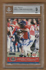 LADAINIAN TOMLINSON 2001 Pacific AUTO RC BGS 9 Beckett Old Label Signed Rookie
