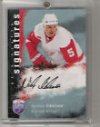 NICKLAS LIDSTROM 2007-08 Autograph BE A PLAYER Card DETROIT RED WINGS