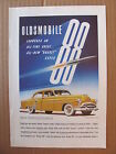 1951 Oldsmobile 88 Automobile All Time Great All New Rocket Super 88 Color Ad