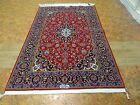 Exquisite 2000's Authentic Hand Made Mint Persian Kashan Shadsar Rug  Free S H