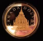 2016 Canada Library of Parliament 2 oz Silver Proof Coin Masters Club Renewed 2