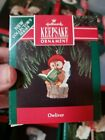 1992 Hallmark Owliver Dated Handcrafted 1st ed Ornament NIB NEW