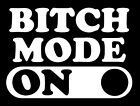 B Mode On Funny Rude Prank Window Laptop Car Vinyl Decal Sticker Colorsize