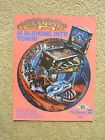 Hurricane Pinball Machine Sales Flyer New Old Stock
