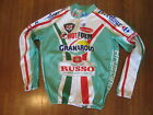 Vintage Italian Warm Winter Insulate Cycling Jersey Jacket Full Zip Mens LARGE