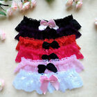 Women Lady Brides Wedding Garters Elastic Bowknot Lace Garter For Party Cosplay