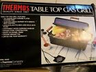Vtg Thermos Table Top Gas Grill 10105 Portable Camping Steel Chrome Plated NIB