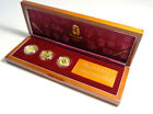 Beijing Olympics 2008 Commemorative Gold Coin x3 SET