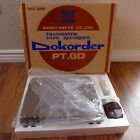 Vintage NEW Denki Onkyo Dokorder PT-8D Reel to Reel Tape Recorder