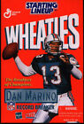 STARTING LINEUP – DAN MARINO of the MIAMI DOLPHINS – VARIOUS YEARS – NEW