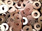 Lots Of 5 10 25 Solid Copper Flat Washers 38 Id X 78 Od X 116 Thick Rc