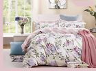 pink purple rose cotton bedding set duvet cover set twin full queen king cal k