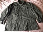 mens xlarge vintage 1970 US Army Vietnam tropical combat coat xl military jacket