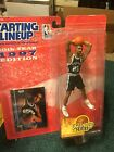 NBA  1997 Extended  Starting Lineup Tim  Duncan  Rookie Figure San Antonio Spurs