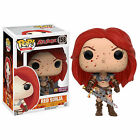 Funko Red Sonja PX Exclusive POP Bloody Red Sonja Vinyl Figure DAMAGED BOX NEW
