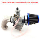 Mikuni VM22 Carburetor Air Filter Intake Pipe For 110 125 140cc Pit Dirt Bike