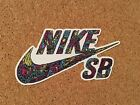 Nike SB Sticker Promo Decal Skateboarding Colors Eyes Car Unique New Rare 4