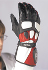 ZERO 60 TASO Leather Motorcycle Gloves RED MSRP 5999