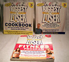 3 Biggest Loser Books Cookbook Weight Loss Program Fitness Program
