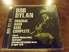 Bob Dylan Original Hard Rain Complete Afternoon & Evening Clearwater 1976