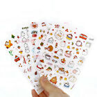 6 pcs pack Cute Season 3 Potato Rabbit Decorative Diary Album Label Sticker DIY