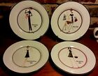 Santa Barbara Design CASUAL GIRLS Salad plate set of 4, The Girls @ the T Co.