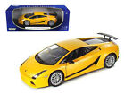 Lamborghini Gallardo Superleggera Orange 118 Detailed Diecast Model Car 73181or