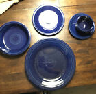 FIESTAWARE DISHES (HOMER-LAUGHLIN) Cobalt (5-pc Place Setting) Made in USA