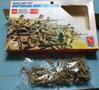 Vintage Amt Ertl World War Two British 8th Army Soldiers 50 1/72 Scale