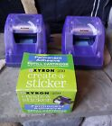 Xyron Sticker Makers Both Model 250 And 1 NIB Refill Cartridge Srapbooking Tool